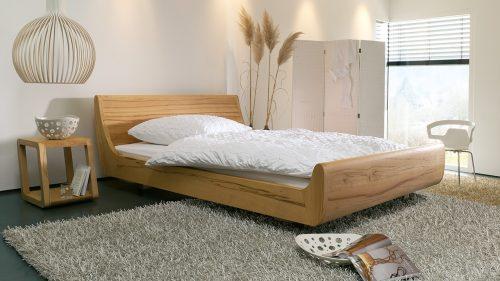 Dormiente Massivholzbett Mola